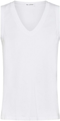 Theavant Brazil V-Neck T-Shirt in White