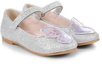 Sophia Webster Baby's & Little Girl's Butterfly Metallic Flats