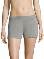 Saks Fifth Avenue Maddie Heathered Jersey Boxers