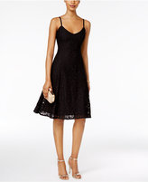 Connected Ronni Nicole Lace A-Line Slip Dress