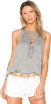 One Teaspoon The Dirty Work Lace Up Tank
