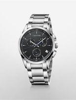 Calvin Klein Womens Bold Chronograph Watch Black