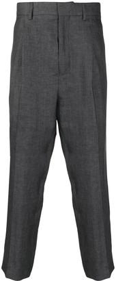 Ann Demeulemeester Straight-Leg Cotton Trousers