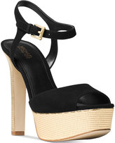 MICHAEL Michael Kors Trish Platform Ankle-Strap Dress Sandals