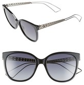 Christian Dior Diorama 55mm Cat Eye Sunglasses