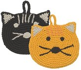 Now Designs Animal Tawashi Scrubbers, Calvin Cat