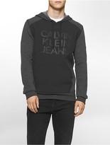 Calvin Klein Colorblock Glow Logo Hoodie