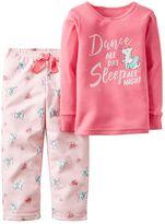 Carter's Baby Girl 2-pc. Graphic Pajama Set
