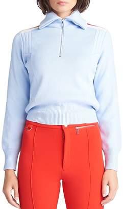 Cordova Merino Wool Half-Zip Racing Sweater