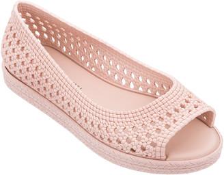 Jason Wu Melissa Shoes Woven Peep-Toe Sandals