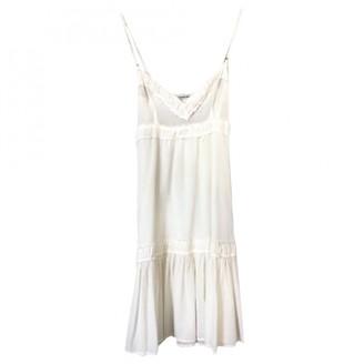 Anna Molinari White Cotton Dress for Women Vintage