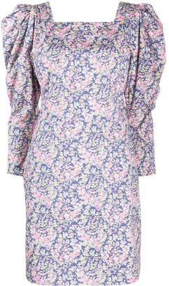 philosophy Floral Print Mini Dress