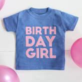 My 1st Years Girls Personalised Birthday T-shirt