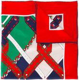Gucci argyle chain print scarf - women - Silk - One Size
