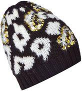 Biba Leopard Sequin Hat