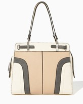 Charming charlie Waterfall Colorblock Tote