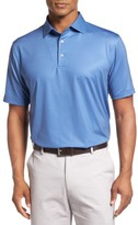 Peter Millar Men's Pointer Mini Dot Golf Polo