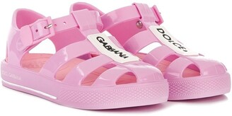 Dolce & Gabbana Kids Branded Jelly Shoes