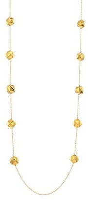 Alberto Milani Millennia 18K Yellow Gold Geometric Chain Necklace