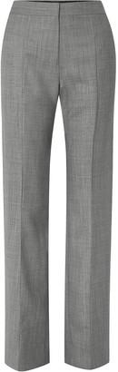 Narciso Rodriguez Melange Wool Straight-leg Pants