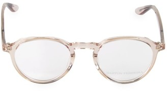 Barton Perreira 49MM Archie Hush Clear Glasses