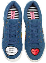 Betsey Johnson Goldiey Sneaker