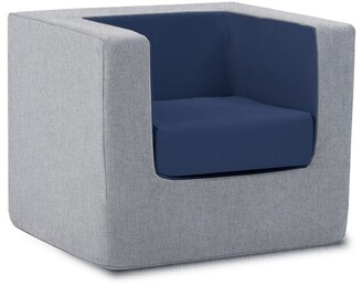 Monte Cubino Kid's Size Chair Nordic Grey/Navy