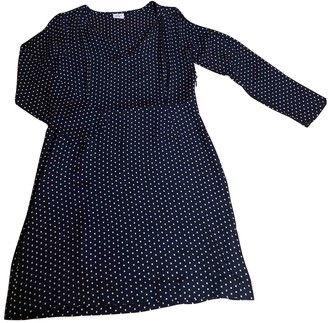 Hartford Navy Silk Dress for Women