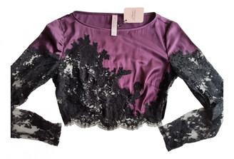 Agent Provocateur purple Silk Tops