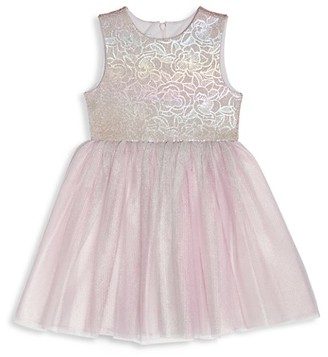 Pippa & Julie Baby Girl's Holographic Tutu Dress