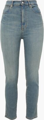 IRO Louv Faded High-rise Slim-leg Jeans
