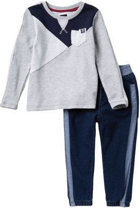 Joe's Jeans French Terry Top & Pants 2-piece Set (Toddler Boys)