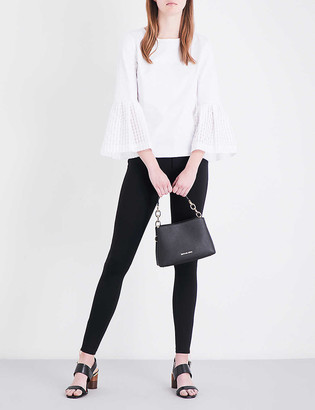 Ted Baker Fioni skinny mid-rise cotton-blend trousers