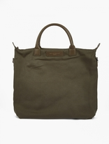 Want Les Essentiels Green Cotton O'hare Tote Bag