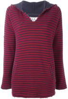 Zoe Karssen striped hoodie