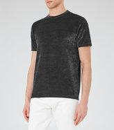 Reiss Mars Velour T-Shirt