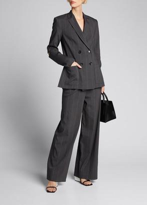 Tibi Stella Isselin Stripe Pleated Pants