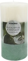 Sonoma Goods For Life SONOMA Goods for Life Eucalyptus & Mint Leaf 19.4-oz. Pillar Candle