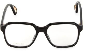 Gucci 56MM Square Optical Glasses