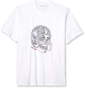 The Kooples Men's Men's T-Shirt with Skull Print on Front