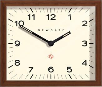 Newgate Clocks Mr Davies Wooden Wall Clock, Natural