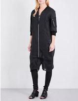 Boris Bidjan Saberi Cropped cotton-organza jumpsuit
