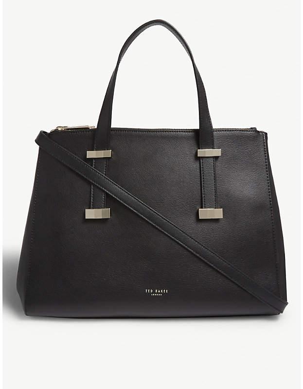 0d76fcb8e1f Ted Baker Black Top Handle Bags For Women - ShopStyle UK
