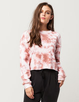 SKY AND SPARROW Tie Dye Womens Sweatshirt