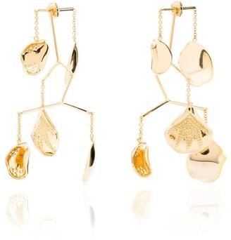 Anissa Kermiche 18kt gold Kinetic Mobile earrings