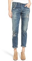 Citizens of Humanity Women's Emerson Embroidered Slim Boyfriend Jeans