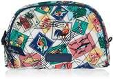 Vera Bradley Small Zip Cosmetic Cosmetic Bag