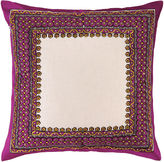 Trina Turk Terranea Embroidered Pillow Purple