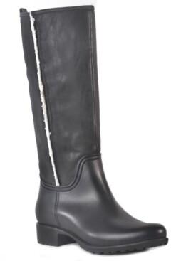 dav Cheyenne Waterproof Women's Tall Rain Boot Women's Shoes