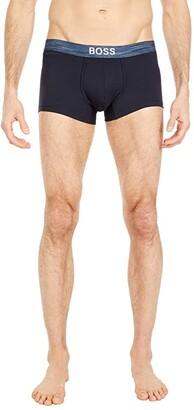 HUGO BOSS Trunks Smooth (Navy) Men's Underwear